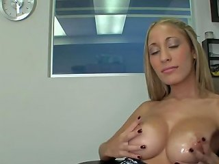 Laura Love Gets Her Big Soft Tits Oiled Up Wetplace Com