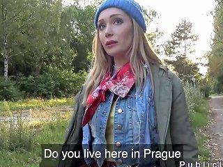 Czech Blonde Banged Big Dick Outdoor Porn Videos
