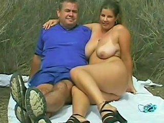 Amateur Couple Having A Road Sex Outdoors