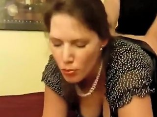 Busty Divorced Wife Used Hard By Her Boss On Business Trip