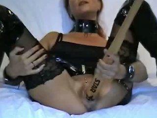 Girl Fucking Baseball Bat