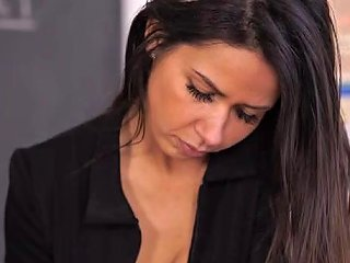 Teacher In A Tight Blouse Blows Minds With Her Big Tits