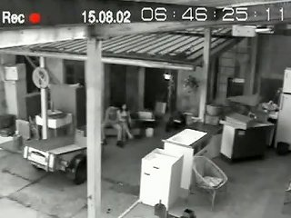 Coworkers Taking Break Caught Fucking On Security Cam Video