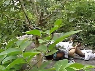 South Indian Desi Randi Fucking In Jungle