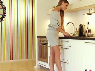 Sexy Morgan Gets Nailed In The Kitchen Vporn Com