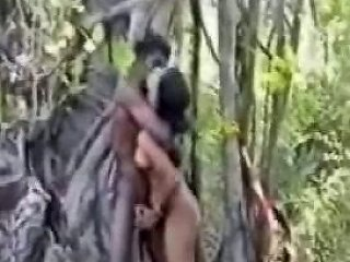 We Were So Hungry For Black Skinned Indian Dicks In The Jungle