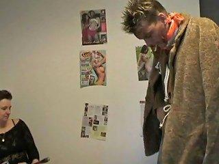 Dutch Boy Fucks Ugly Granny Office