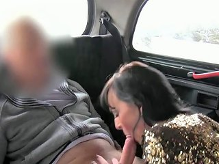 Lady Anal Fucking On Security Cam In Fake Taxi Porn Videos