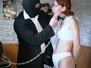Sexy Redhead Is Sucking So Freaking Submissive