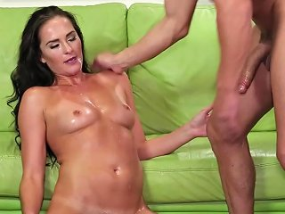 Bianca Breeze's Trimmed Pussy Plowed Hard By A Hot Fellow