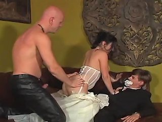 Man Jerks His Cock Off While A Guy Fucks His Bride Any Porn