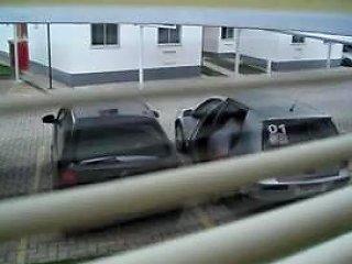 Guy Made A Window Peep Vid With A Sexy Vixen