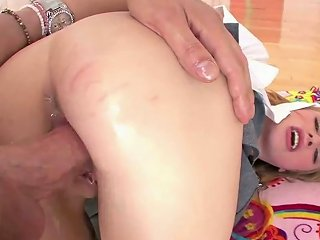 Asstastic Blond Girl Avril Hall Gets Doggy Fucked Rough