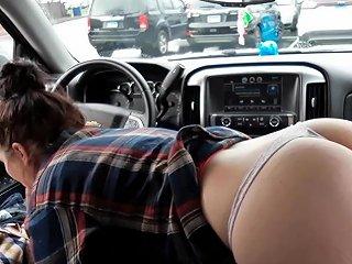 Sloppy Car Blowjob Ljforeplay