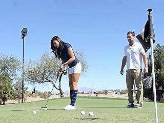 Puremature Golf Teacher Fuck With Busty Mature Audrey Bitoni
