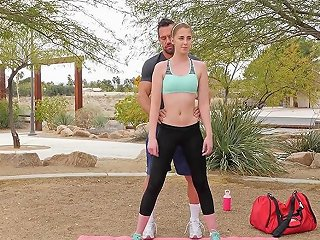 Passion Hd Chloe Scott Fucks Her Yoga Instructor After Outdoor Workout