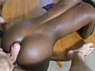 Horny Black Chick Gets Her Pussy Fingered And Pounded Deep
