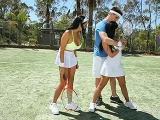 Two Tennis Players Fucked In Open Fields Sunporno Uncensored