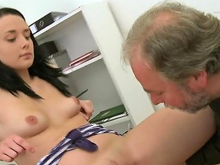 Doggy Position Pounding From Sexually Excited Mature Teacher