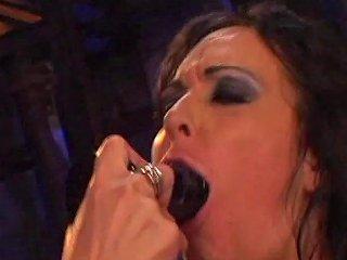 Sweet Porn Lezzy Julie Night Gets Pussy Fingering In Lesbian Bang Scene