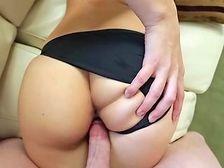 Girl Ends Superb Blowjob Pov With Sperm On Her Glasses