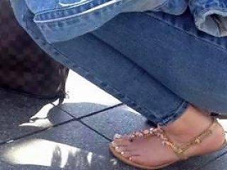 Beautiful 19 Years Old Teen Feet
