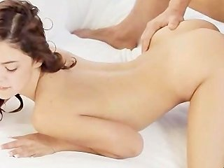Sexy Kneesocks On Unique Babe Penetrate