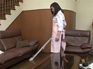 Sex Starved Japanese Housewife Maya Sawamura Seduces One Delivery Guy