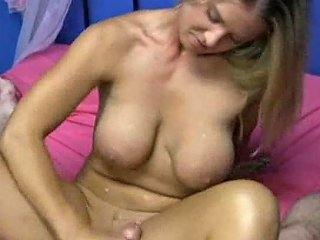 Sexy Girl Wears Hot Outfits And Gives Handjobs