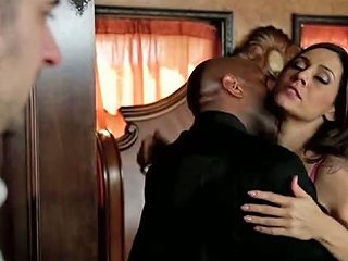 Whore Wife Sucks Big Black Cock In The Presence Of Her Husband