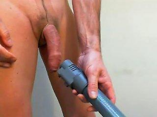 Pantyhosed And Vacuum Masturbation Free Gay Masturbation