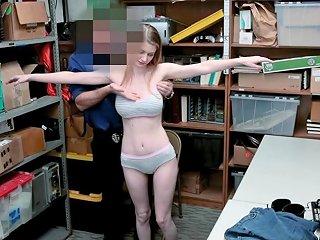 Busty Stealing Teen Avoids Going To Jail After A Hard Sex Drtuber