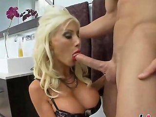 Blonde Bimbo Puma Swede Got Fucked Hard