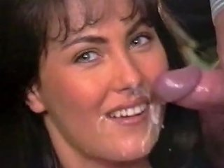 Anita Gets Sandwiched And Facialed In Retro Mmf Clip