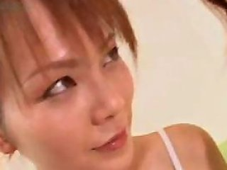 Japanese Lesbians Fool Around With Their Tasty Tits