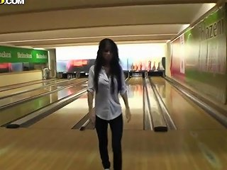 This Hottie Lost Me Bowling Challenge And Needs To Suck My Dick Hdzog Free Xxx Hd High Quality Sex Tube