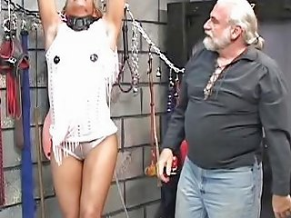 Cute Young Black Bdsm Babe Gets Restrained In Master