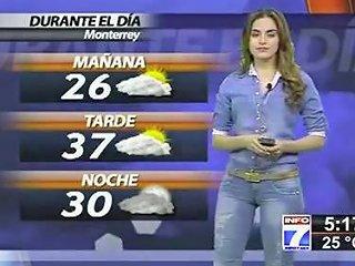 Weather Girl Cameltoe