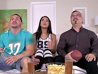 Familystrokes Stepsis Flashes Her Tits And Seduces Step Bro 124 Redtube Free Hd Porn