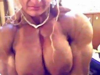 Muscle Girl Maryse Manios Porn Videos