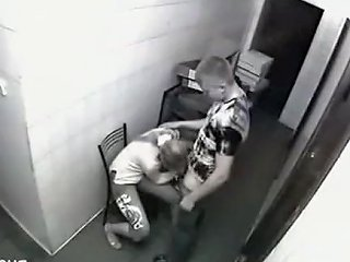 Hardcore Sex Caught On Security Cam