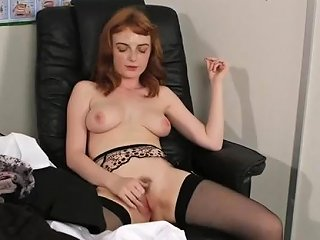 Hot Centerfold Gets Cumshot On Her Face Eating All The Jizz