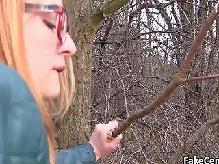 Redhead Takes Big Cock Outdoors Porn Videos