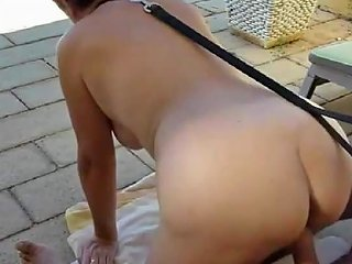 Gilf Freak On A Leash At Six Different Times Porn 7c