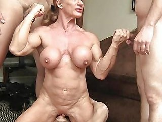 Buff Milf Vs 3 Cocks Cocked Hd Porn Video 71 Xhamster