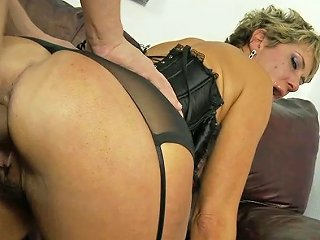 Nasty Mommy In Sexy Lingerie Chloe Wilder Nailed Hard By Alex Gonz