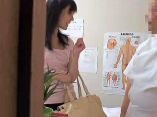 Heavy Fingering For A Jap Gal In Erotic Voyeur Massage Video