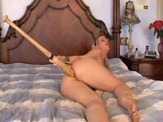 Baseball Bat Anal Free Blonde Porn Video BF Xhamster