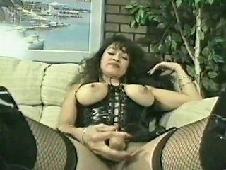 Hermaphrodite Saki St Jermaine Plays With Her Toys Porn D3