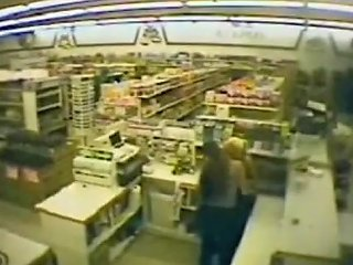 Security Cam Catches Lesbian Clerks In Action